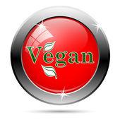 Vegan icon — Stockfoto