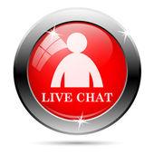 Chatt-ikonen — Stockfoto