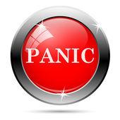 Panic icon — Stock fotografie