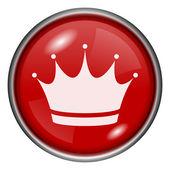 Crown icon — Stock Photo