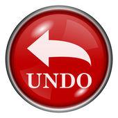 Undo icon — Stock Photo