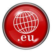 Icono de .eu — Foto Stock