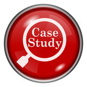 Case study icon — Stock Photo