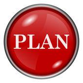 Plan icon — Stock Photo
