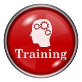 Training icon — Stock Photo