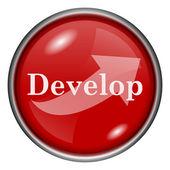Utveckla ikonen — Stockfoto