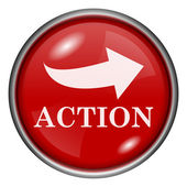 Action icon — Stock Photo