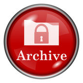 Archive icon — Foto Stock