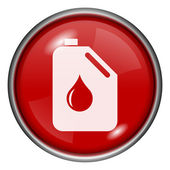 Icona di latta olio — Foto Stock
