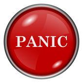 Panic icon — Stock Photo