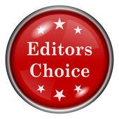 Editors choice icon — Stockfoto