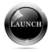 Launch icon — Stock Photo