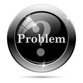 Problem icon — Stock Photo