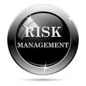 Icona di gestione del rischio — Foto Stock