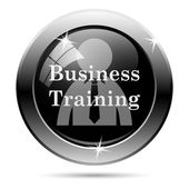 Business training icon — Stockfoto