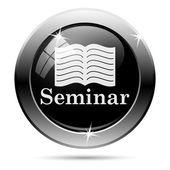 Seminar icon — Stock Photo