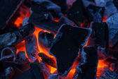 Burning coal — Stock Photo