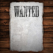 Wanted Sign — Stock Photo