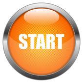 Vector Button Start — Stock Vector