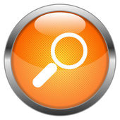 Vector Button Search — Stock Vector