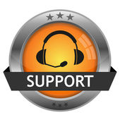 Support button vector — Vecteur