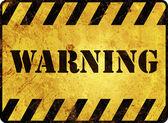 Señal de advertencia — Foto de Stock