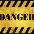 Royalty-Free Stock Photo: Danger Warning Sign