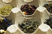 Different grades of tea — Stock Photo