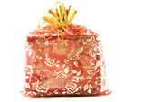 Decorated gift — Stock Photo