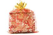 Geschenk dekoriert — Stockfoto