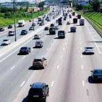 Car traffic — Stock Photo