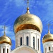 White orthodox church — Stock Photo