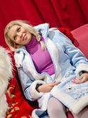 Snegurochka (Snow Maiden) — Stock Photo
