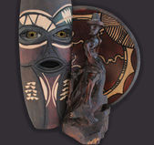 African Voodoo Artifacts — Stock Photo