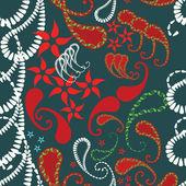 Decorative elements - seamless pattern — Stock Vector