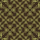 Декоративный бесшовный фон — Cтоковый вектор