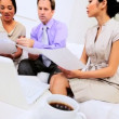 Video Stock: Multi Ethnic Business Team Meeting