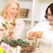 Royalty-Free Stock : Senior Multi Ethnic Ladies Craft Class