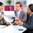 Multi Ethnic Boardroom Business Meeting — Stok Video #17879637