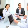 Hospital Medical Team Meeting - Stock Photo