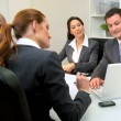 Business Meeting Banking Executives - Stock Photo