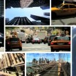 Montage Images, New York, USA — Stock Video