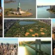 Montage Aerial and Street Images, New York, USA — Stock Video