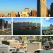 Montage City Scenes Landscapes New York, USA — Stock Video #18016437