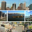 Multiple Images New York City, USA — Stock Video