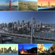 Montage Images Renewable Energy in Cities, USA - Foto de Stock