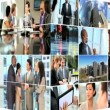 Montage Successful Business - Stock Photo