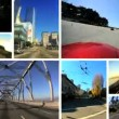 Stock Video: Montage Time Lapse P.O.V Driving Road Trip
