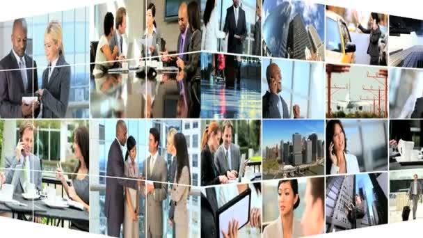 Montage Successful Business — Vidéo