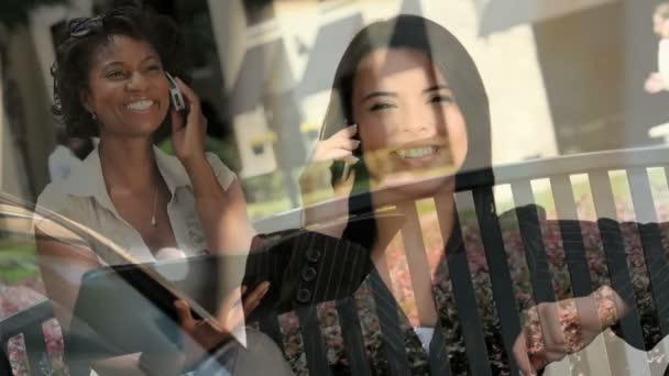 Montage Images Faces Business — Vidéo